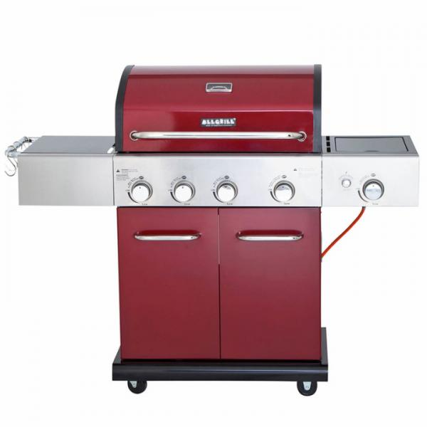 Allgrill Elegance in Bordeaux rot