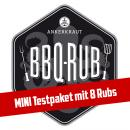 Ankerkraut BBQ Rub Mini Testpaket: Set mit 8 Rubs